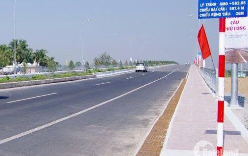 Đất mặt tiền cầu Phú Long Hà Huy Giáp giá chỉ 5.6 tỉ
