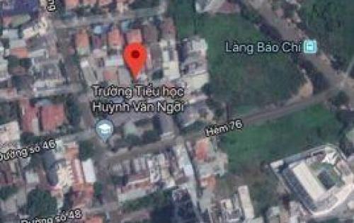 Bán gấp 75m2 thổ cư khu Thảo Điền q2, sổ đỏ, khu kinh doanh sầm uất