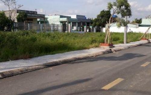Bán gấp lô đất đường Nguyễn Hữu trí,SHR,350tr,dân cư đông đúc