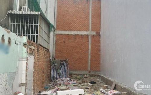 Bán đất nền thổ cư đường hẻm Hậu Giang - Q.6