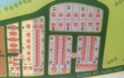 Bán Đất Nền Lô 46 Bách Giang  Quận 9 Diện Tích 254m2 giá rẻ nhất khu vực 33 triệu / m2