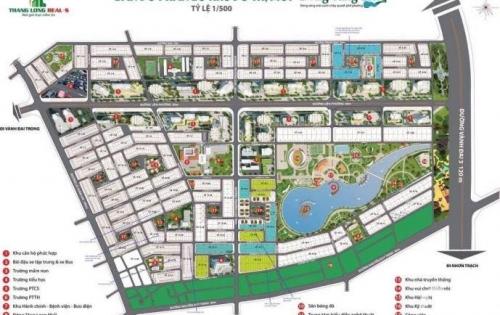 Bán gấp lô góc biệt thự bờ hồ khu siêu đô thị Đông Tăng Long q9