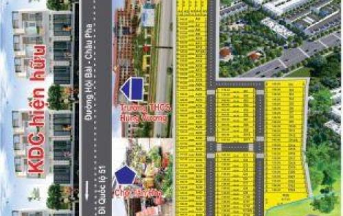 Mỡ bán đợt đầu 50 nền đất đẹp nhất tại thị xã Phý Mỹ, đối diện cổng KCN Phý Mỹ 3
