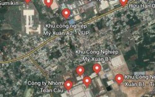 Bán đất KCN giá chỉ 220 triệu/nền,sổ riêng,thổ cư