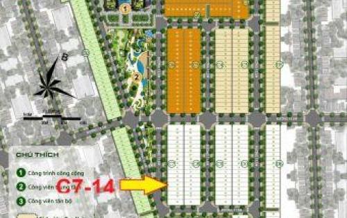 Bán gấp lô đất 110m2, giá 730 tại ECO Future Park Đà Nẵng
