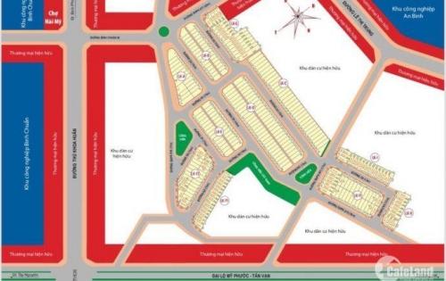 Dự án siêu vip ngay chợ Hài Mỹ, Thuận Giao, giá 1.4 tỷ, DT: 85m2, 0933 486 115 zalo