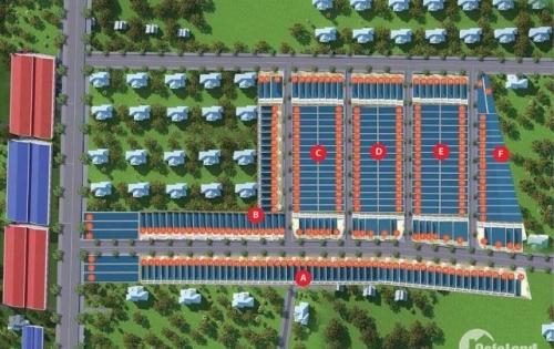 Bán đất cổng KCN giang điền sổ hồng riêng thổ cư 100%
