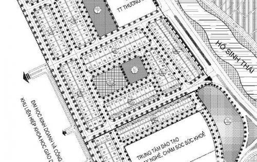 Bán lô đất nền thuộc dự án Dabaco Từ Sơn