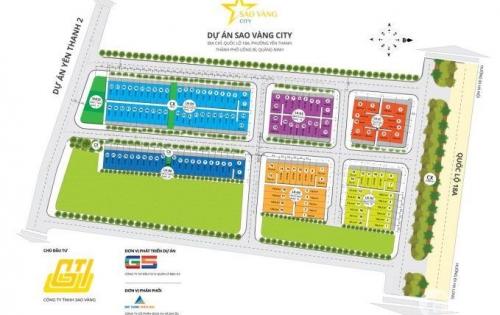 Bán lô đất nền trong dự án Sao Vàng city ngay trung tâm tp Uông Bí_chỉ từ 10 triệu/m2