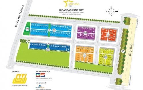 Bán đất nền dự án Sao Vàng City