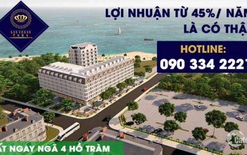 Sở hữu khách sạn vàng  sát bên cạnh Hồ Tràm mặt tiền đường 30m Thu nhập 600tr/tháng