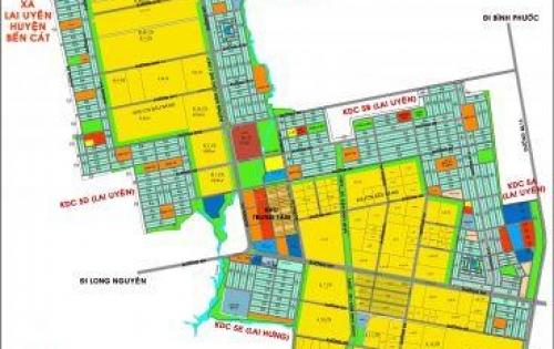 Mở bán nhà phố shophouse KCN Bàu Bàng Bình Dương chỉ 8tr/m2