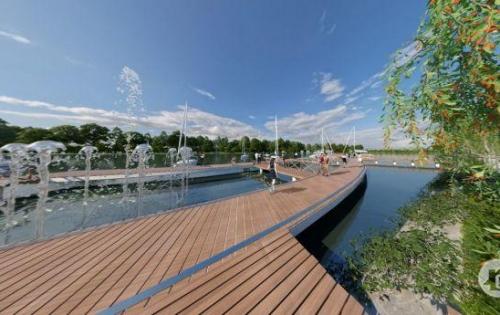 . Nhà phố - Biệt thự ven sông ngay trung tâm thị trấn Bến Lức, chỉ 1.5 tỷ/căn.