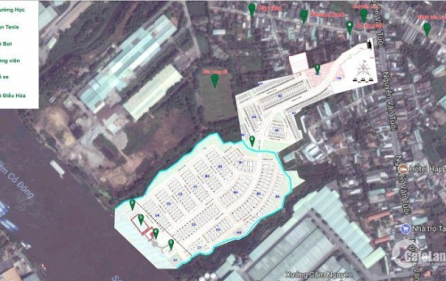 Mở bán đợt 1 BT, nhà phố ven sông giá chỉ 1,3 tỷ cách chợ Bình Chánh 10p di chuyển, 0914282442
