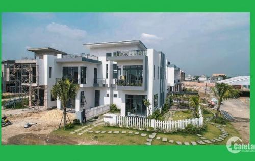 Biệt thự nhà phố ven sông mặt tiền QL1A 1tỷ4 - 2tỷ5 thanh toán 30% nhận nhà ngay. LH 090 4646 772