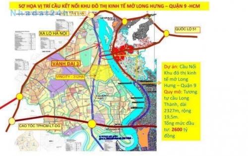 Bán đất TP.Biên Hòa, Quốc lộ 51. Cách Quận 9 SG 10p. Chỉ từ 1 tỷ 280/ lô. sổ riêng từng lô