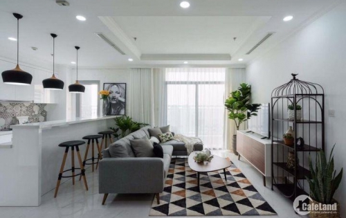 Bán căn hộ Vinhomes Tân Cảng - 3PN, full nội thất, DT 113m2