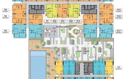 Chính Chủ cần bán lại căn hộ Richmond city Quận Bình Thạnh 2ty4/can LH 0903066813