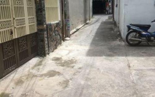 Bán nhà Hẻm Phan Văn Trị, Phường 11, Quận Bình Thạnh. Cách Phạm Văn Đồng 300m.  • Diện tích: 5x11,5m. vuông vức. • Kết cấu: 1 trệt 1 lững • Hẻm sạch sẽ, an ninh