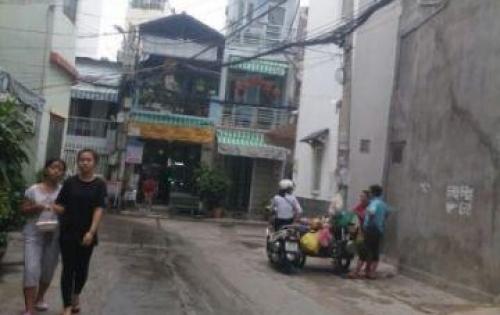 Nhà HẺM XE HƠI 6M, Đinh Tiên Hoàng, P1,Bình Thạnh,27M2, 3.1Ty