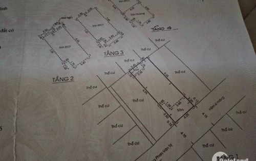 HOT Bán nhà HXH 5m Phan Văn Trị 4,25x12m, 1T,2L, ST, 49.4m2 - 5,5tỷ TL