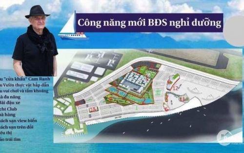 Đất nền nghỉ dưỡng - Viên kim cương Bãi Dài Cam Ranh DT 150 - 200m2, SHR, giá chính chủ đầu tư F1 LH:0901822727