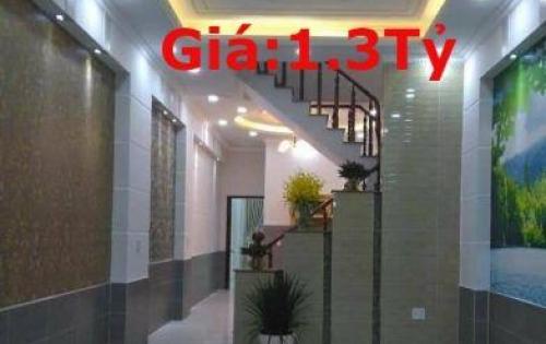 bán gấp nhà mới chính chủ, đinh đức thiện, giá chỉ 1.3 tỷ