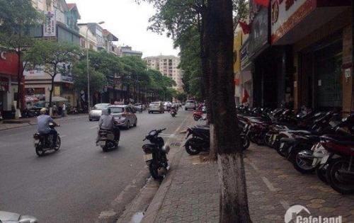 Bán nhà mặt phố gần Nguyễn Ngọc Vũ, mặt tiền gần 20m, giá 32,5 tỷ.