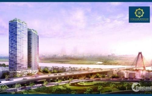 Bán căn hộ Intracom Riverside 1.17tỷ, 2PN, 64.5m2, chiết khấu 4,5% Lãi xuất 0%, full nội thất. 0869.954.863
