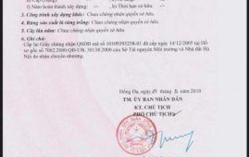 Bán nhà lô góc 2 mặt tiền Phố Nguyên Hồng, 78m2, tiện kinh doanh, giá 26 tỷ