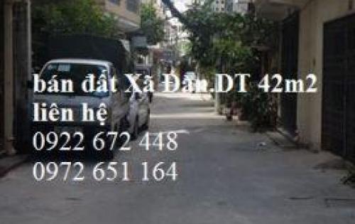 Bán đất phân lô Xã Đàn-Đống Đa, kinh doanh, ôtô đỗ cửa, DT 42m2, giá 5,4 tỷ