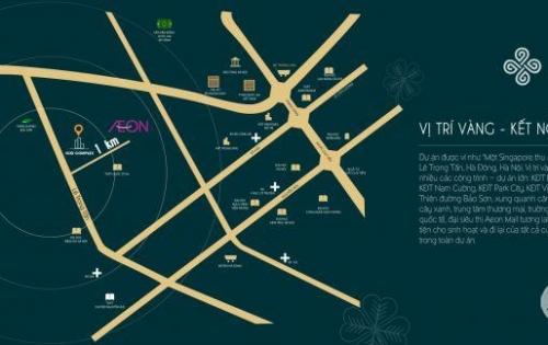 Dự án chung cư nằm tại vị trí vàng phía Tây Hà Nội