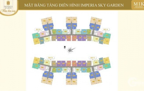 Imperia Sky Garden - 423 Minh Khai. Dự án được mong đợi nhất 2018