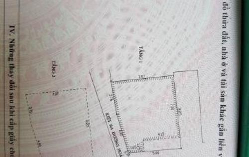 Bán nhà 3 mặt Kiệt - HOÀNG DIỆU - Hải Châu – ĐÀ NẴNG
