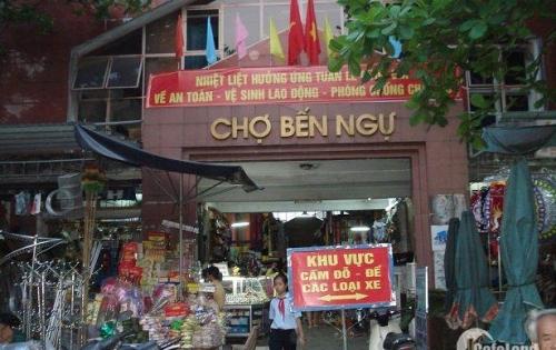 Nhà mặt tiền đường Phan Bội Châu chưa qua chợ ngay khu buôn bán sầm uất