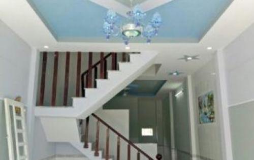 Nhà 1 lầu, đối diện UBND Hưng Long, dt 80m2, đầy đủ nội thất, sổ hồng riêng