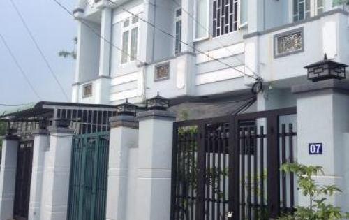 Nhà mới ngay UBND Hưng Long-Bình Chánh Dt 100m2 SHR 950tr/căn