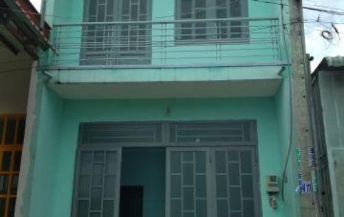 nhà xây kiên cố 1 lầu 1 trệt liên ấp 123 vĩnh lộc A bình chánh