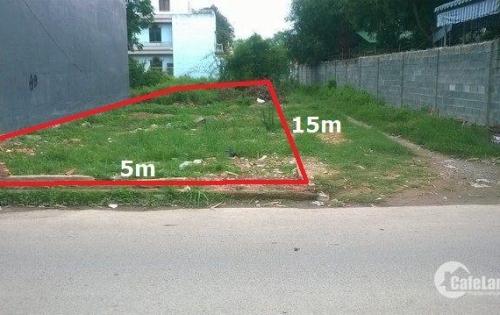 Gia đình cần bán lô đất Tân Phú Trung, Củ Chi 75m2 950TR