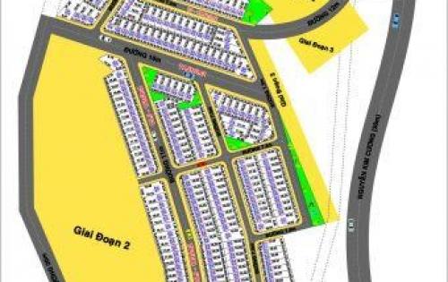 Mở bán 263 nền dự án Diamond city tại ngã tư Tân Quy, tỉnh lộ 8 giá chỉ 15 tr/m2 Diện tích 80m2