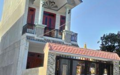 Nhà đẹp Hú Hồn! Nhà 1 trệt 2 lầu, giá 4.2 tỷ, Tân Phú Trung, Củ Chi. Lh: O917.698.325 gặp Toàn.