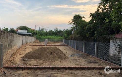 ĐẤT MẶT TIỀN ĐƯỜNG 12M XÃ TÂN PHÚ TRUNG ,DT 5x17 full thổ cư