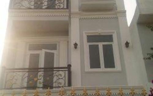 Bán nhà đường Huỳnh Tấn Phát, Thị trấn Nhà Bè DT 3.5m x12m, 2 lầu 4PN giá 1.95 tỷ