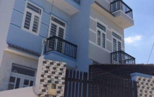 Bán gấp nhà đường Huỳnh Tấn Phát, Thị trấn Nhà Bè, DT 3.4m x 12m, trệt, 2 lầu, 4PN giá 1.7 tỷ