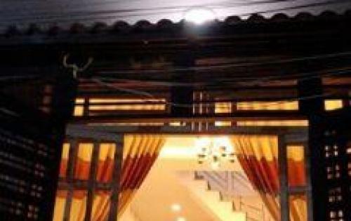 Bán nhà hẻm 1886 Huỳnh Tấn Phát,Nhà Bè, Tp.HCM DT 4m x 11m 1 trệt 1 lầu, giá 2.62 tỷ