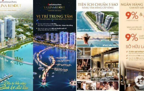 Cần bán căn hộ mặt biển rẻ nhất dự án La Luna Resort TP Nha Trang 0934561010