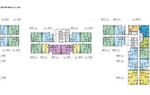 Nhượng lại 2 căn 2PN D05-03 và D08-11 dự án cao cấp Kingdom 101