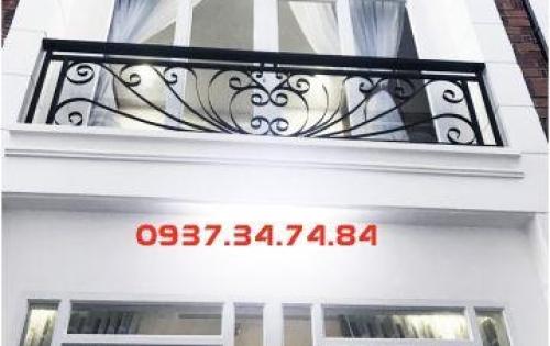 Nhà phố đẹp quận 12, 1 trệt 2 lầu ĐÚC THẬT – giá: 1.45 tỷ/căn ngay đường Tô Ngọc Vân.