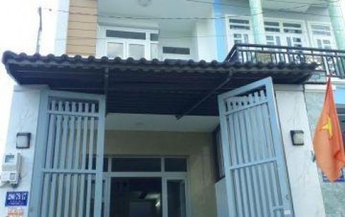Nhà Xây 4x17 1 Trệt 2 Lầu 1 Sân Thượng - Đường 7m - Quận 12