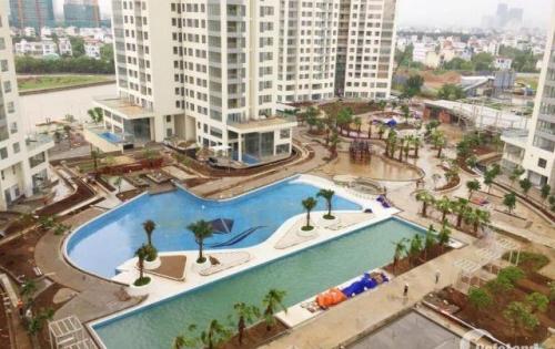 Bán căn hộ 2 phòng ngủ tháp Hawaii, dự án Đảo Kim Cương quận 2, tầng 12 view trực diện nội khu, hồ bơi, giá rẻ.